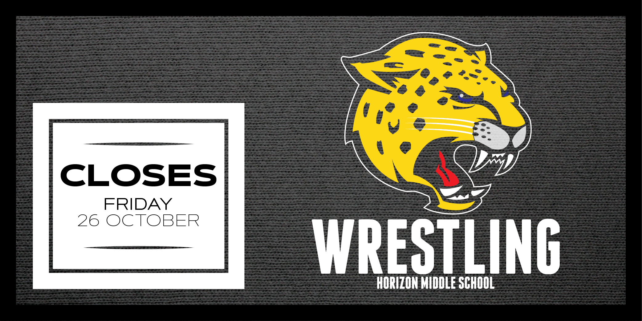 Horizon Middle School Wrestling 2018